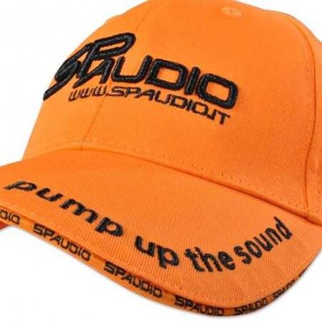 SPAudio Casquette Orange Broderie 3D