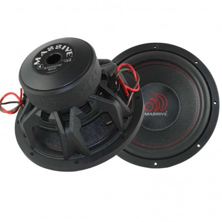 Massive Audio TOROX124 (30 cm, 1000 WRMS, Double 4 Ohms, 86.8 dB)
