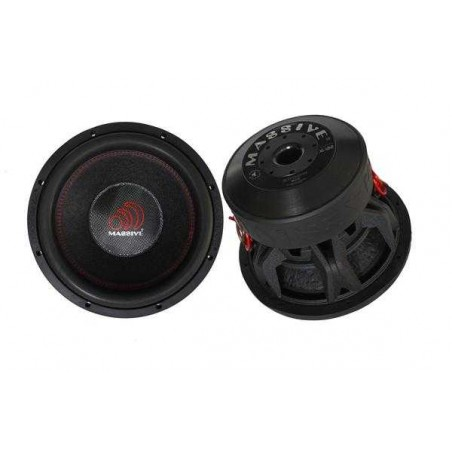 Massive Audio HIPPO XL 122 (30 cm, 2000 WRMS, Double 2 Ohms, 95.9 dB)
