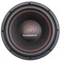 Massive Audio MMA124 (30 cm, 500 WRMS, Double 4 Ohms, 88.2 dB)