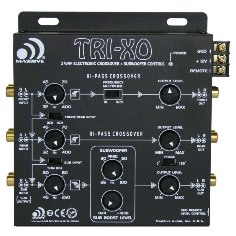 Massive Audio TRI-X0 (3 voies)