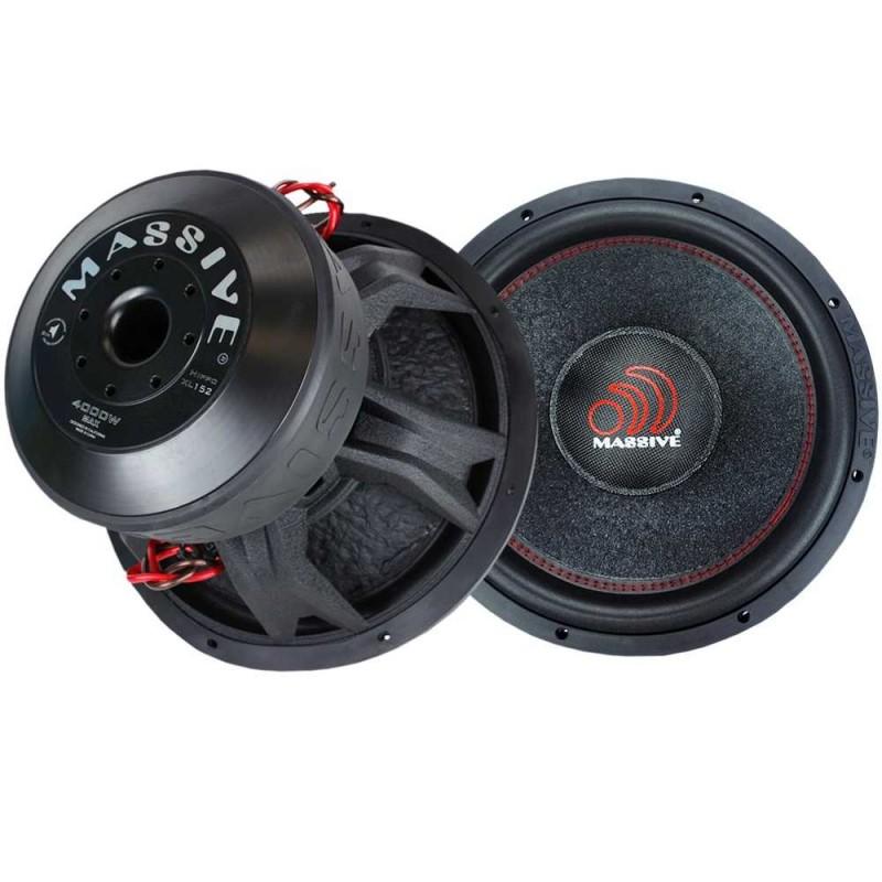 Massive Audio HIPPO XL 152 (38 cm, 2000 WRMS, Double 2 Ohms, 97.9 dB)