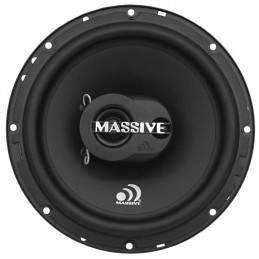 Massive Audio MX65S Extra Plat (16.5 cm, 50 WRMS, 2 Voies, 93 db)