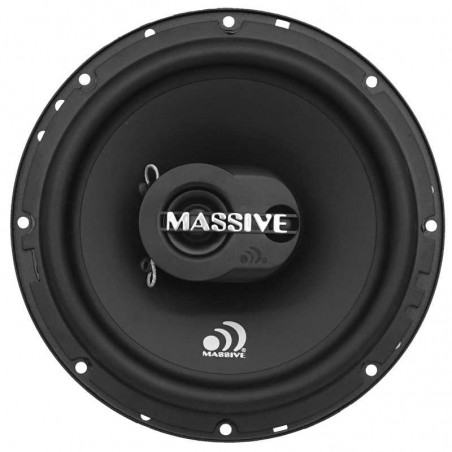 Massive Audio MX65S Extra Plat (16.5 cm, 50 WRMS, 3 Voies, 93 db)