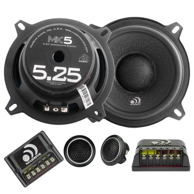 Massive Audio MK5 (13 cm, 130 WRMS, 2 Voies, 4 Ohms)