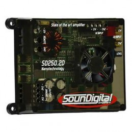 SounDigital SD-250.2D NANO (2x150 WRMS @ 2 Ohm, 14.4v)