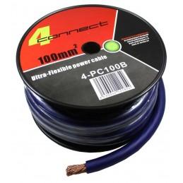 4 Connect 100 mm² Bleu Ultra flexible