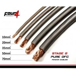 4 Connect 70 mm² OFC Argent Ultra flexible (100% cuivre)