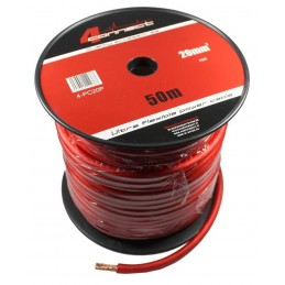 4 Connect 20 mm² rouge Ultra flexible