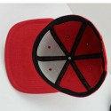 B2 Audio Casquette Rouge Broderie 3D