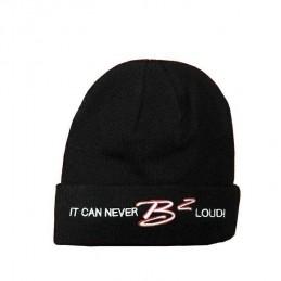 B2 Audio Bonnet Noir Broderie 3D