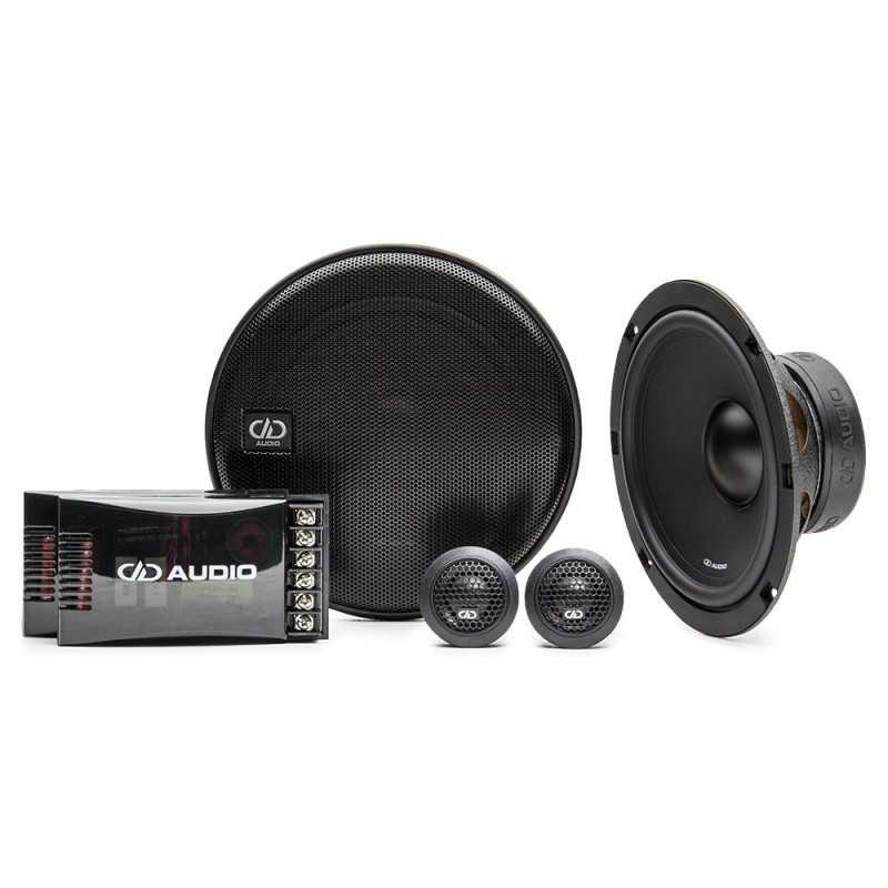 DD Audio EC6.5 (16.5 cm, 100 WRMS, 2 Voies, 4 Ohms)