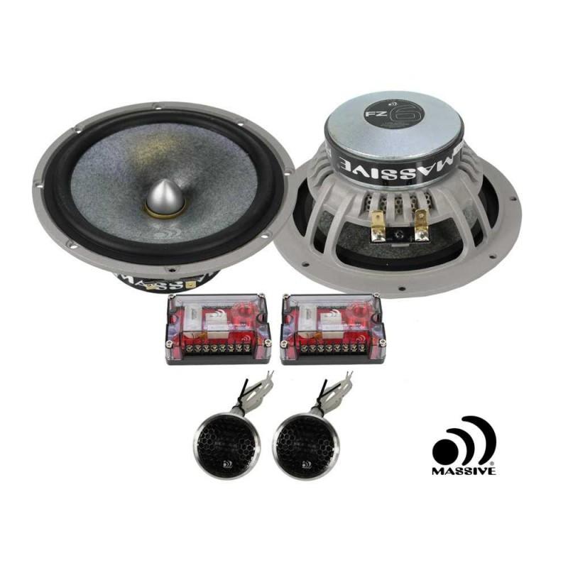 Massive Audio FZ6 (16.5 cm, 200 WRMS, 2 Voies, 4 Ohms)