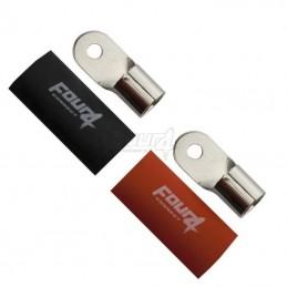 4 Connect 2 cosses 50 mm²/ M6 cuivre