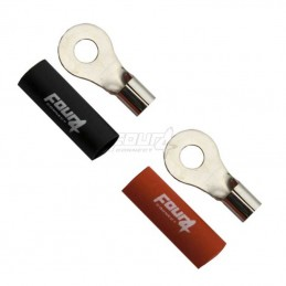 4 Connect 2 cosses 10 mm²/ M6 cuivre