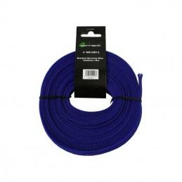4 Connect 10 m Gaine nylon 12/25mm Bleu