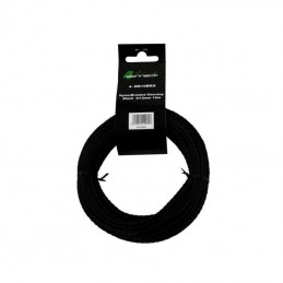 4 Connect 10 m Gaine nylon 6/12mm Noir