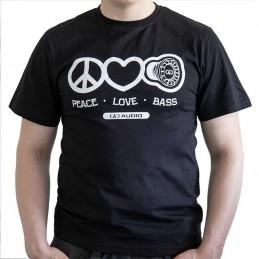 DD T-shirt love,peacebass