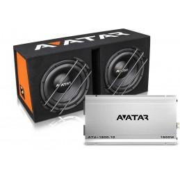 Avatar StormBox ATU-1500W ( 2x30 cm + ATU1500.1D)