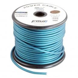 4 Connect 10 mm² S-TOFC Bleu Ultra flexible Stage 3 (100% cuivre étamé à l'Argent)