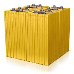 Winston LiFePO4 380Ah (4 cellules 3.2v, 1140A continu)
