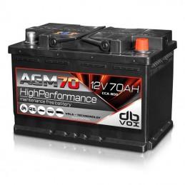 DBVox AGM 70 (12v, 70 Ah, 3500A cc)