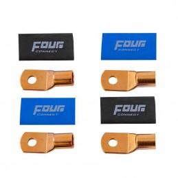 4 Connect 4 cosses 50 mm²/ M8 cuivre STAGE 3 (en sachet)