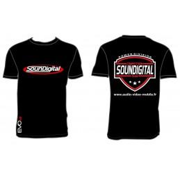 SounDigital T-shirt Noir Homme