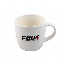 4 Connect Mug Blanc