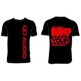 DD Audio T-shirt Noir Homme UP GRADE YOUR SOUND