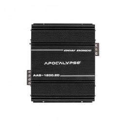 Deaf Bonce Apocalypse AAB-1200.2D (2x1200 Wrms @ 1 Ohm, 14.4v)